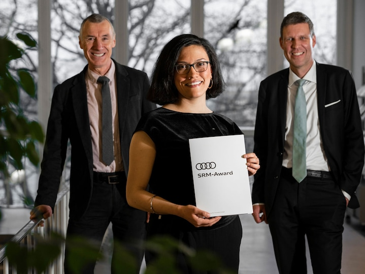 Sustainable Resource Management – Audi presents graduate award